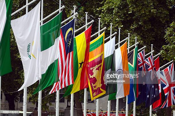 commonwealth - flag stock pictures, royalty-free photos & images