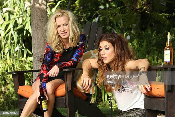 BAD JUDGE 'Communication Breakdown' Episode 108 Pictured Angela Kinsey as Michelle Kate Walsh as Rebecca Wright