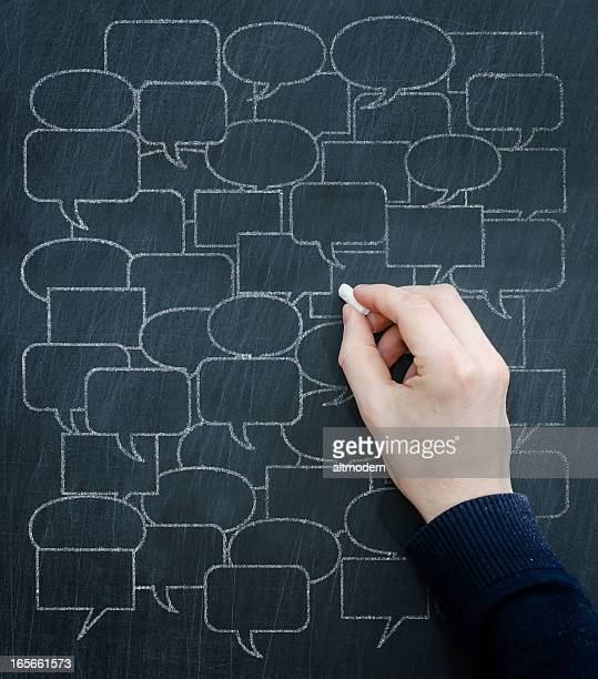 communication - quotation text stock photos and pictures