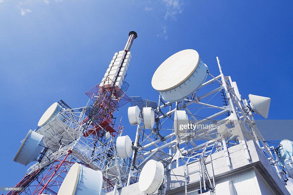communication tower : Stock Photo