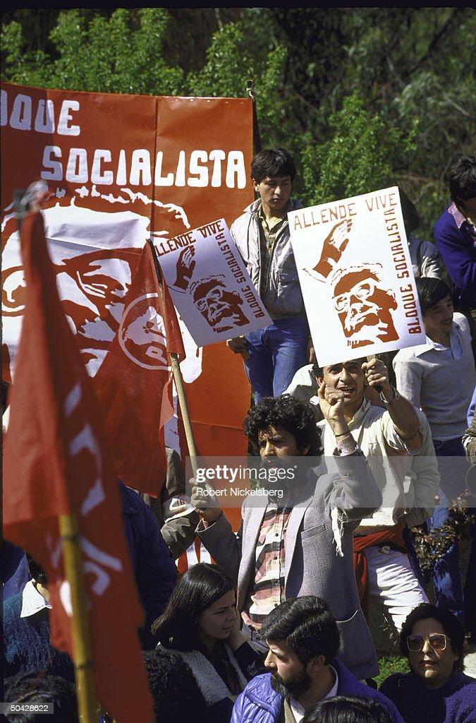 Salvador Allende [Death] : News Photo