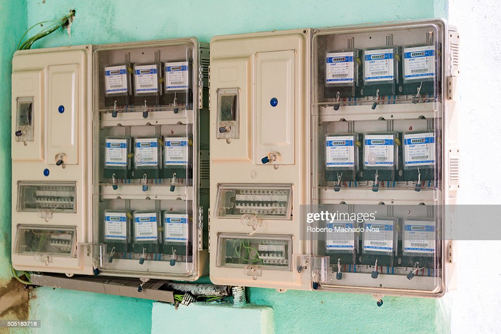 Communist Cuba:Electricity measurement devices or meters in ...