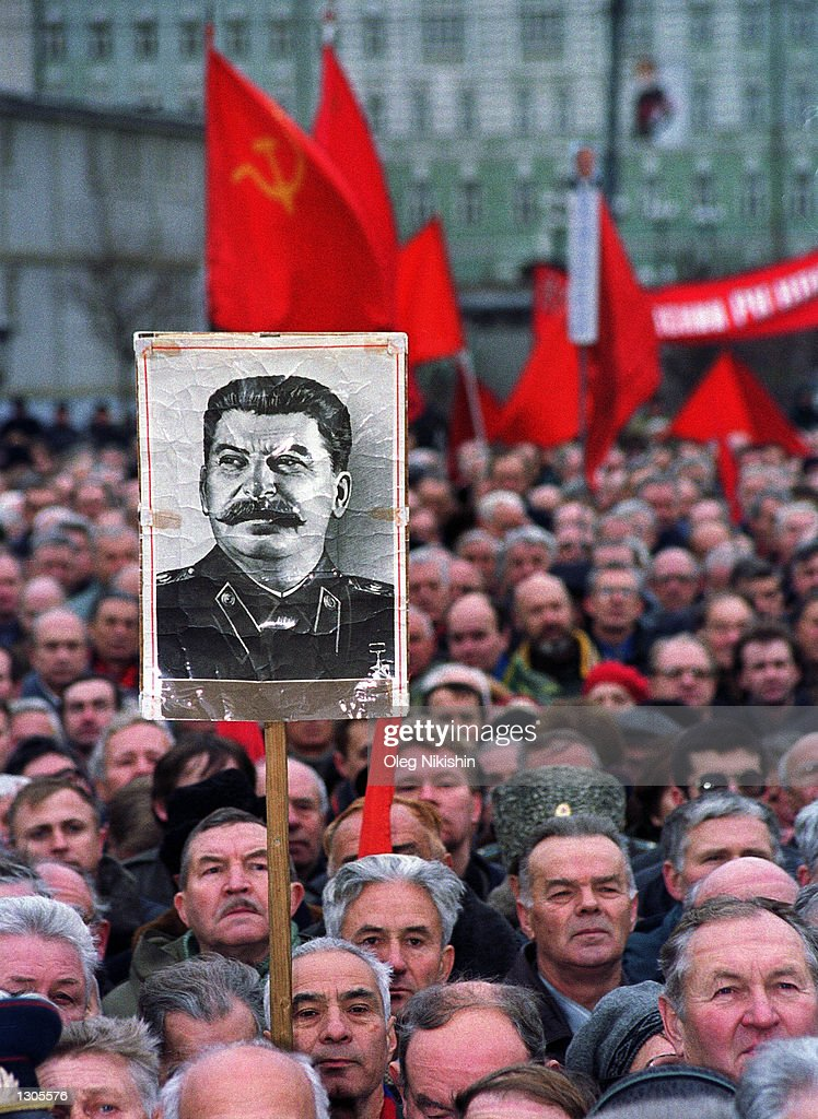 Russian Revolution Day : News Photo
