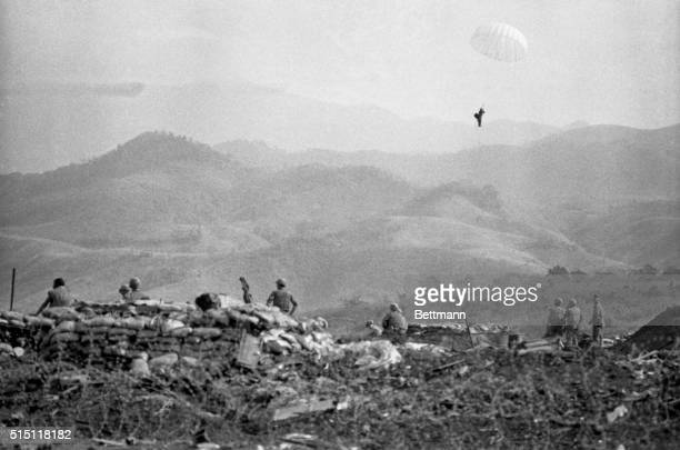 Communist gunners shot down a US Marine A4 Skyhawk during fighting on January 23rd near Khe Sanh along the Cambodian border The pilot Major William...