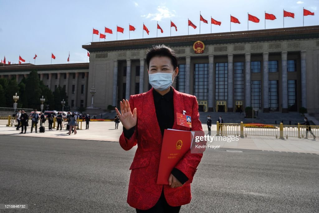 China Holds Annual Two Sessions Meetings Amidst Global Coronavirus Pandemic : ニュース写真