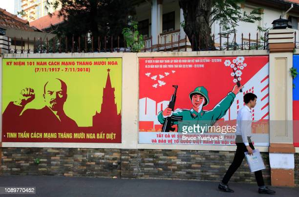 communist propaganda posters - political party stock pictures, royalty-free photos & images