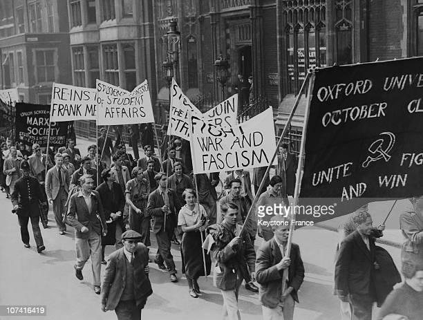 Communist Protest March Against Fascism