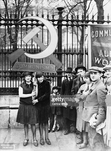 Communists in London celebrating May Day