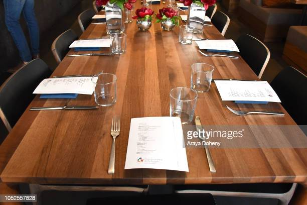 Communities In Schools LA 'Lunch With a Leader' on October 19 2018 in West Hollywood California