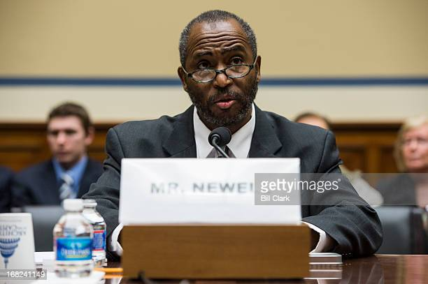 Community activist and whistleblower Frederick Newell testifies during the House Oversight and Government Reform Committee's Economic Growth Job...