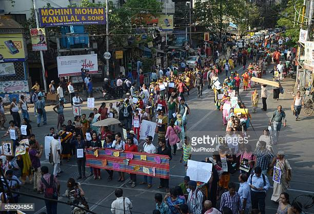 LGBT community and various women organizations participated in a protest rally for the gang rape of 71 year old nun in the Convent of Jesus and Mary...