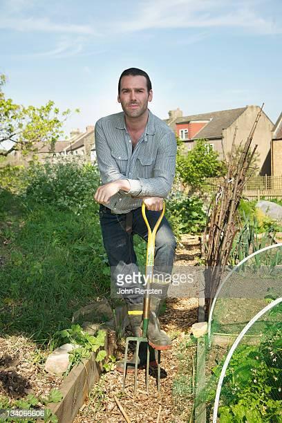 Community garden vegetable growing project