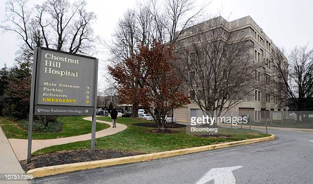 Community Health's Chestnut Hill Hospital stands in Philadelphia Pennsylvania US on Friday Dec 10 2010 Community Health Systems Inc's unsolicited $33...