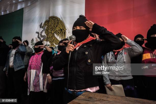 A community meeting in the Zapatista community of Chiapas The Zapatista Army of National Liberation often referred to as the Zapatistas is a leftwing...