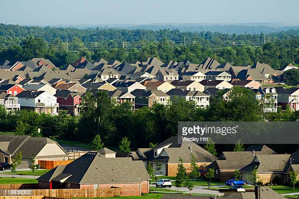 community of houses - ファイアットヴィル ストックフォトと画像