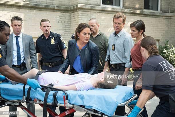 UNIT Community Policing Episode 17005 Pictured Peter Scanavino as Dominick Sonny Carisi Mariska Hargitay as Sergeant Olivia Benson Scott Williams as...