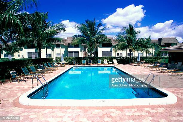 community swimming pool - coral springs stock pictures, royalty-free photos & images