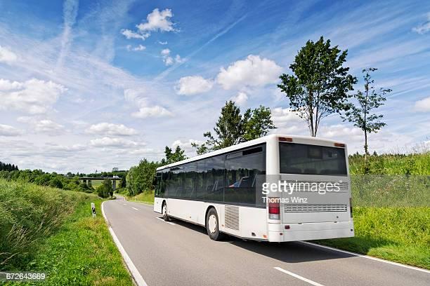 commuter bus - bus stock-fotos und bilder