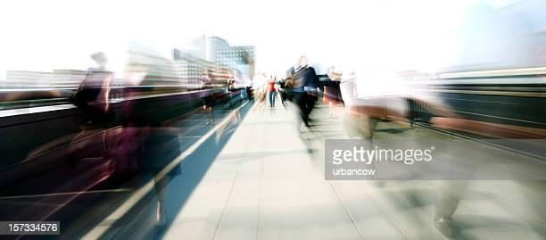 nódoas de passageiros - exposição longa imagens e fotografias de stock