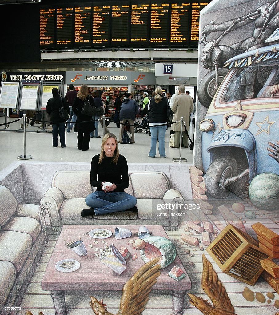 D Street Artist Kurt Wenner Photocall Photos And Images Getty - 17 amazing works of 3d street art