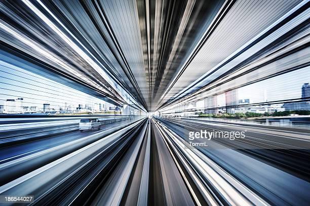 Commuter Train Speeding