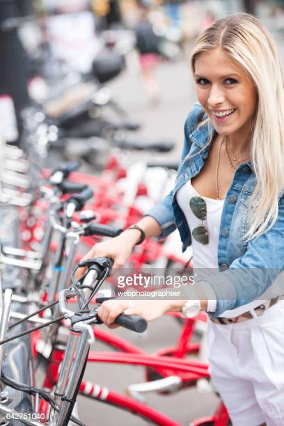 Commuter with bicycle