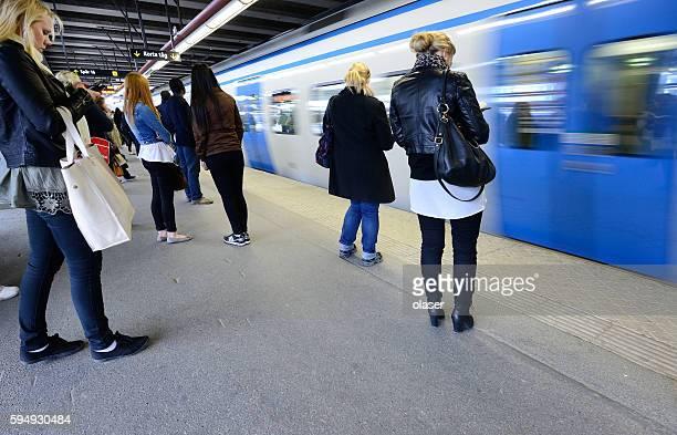 Pendler und U-Bahn