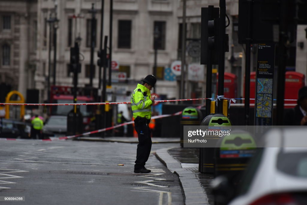 Charing Cross in London Closed After A Gas Leak