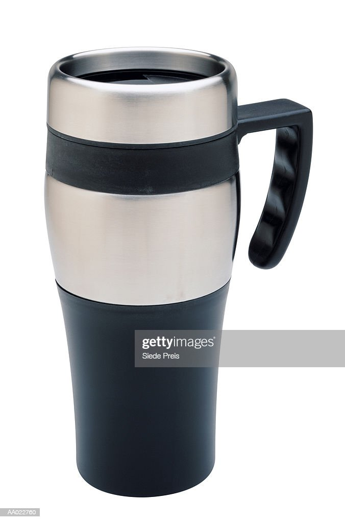 Commuter's Coffee Cup : Stock Photo