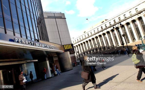 Commuters Exit Madison Square Garden Pennsylvania Station April 5 News Photo Getty Images