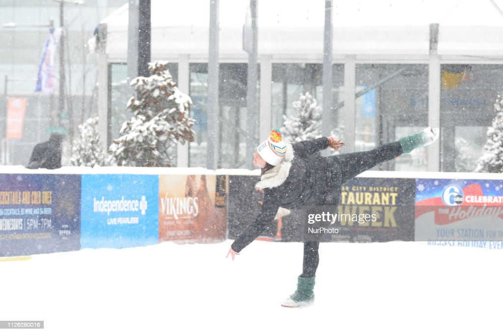 PA: Winter Storm Petra Blankets Philadelphia