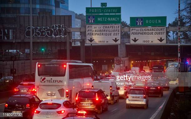 Commuters head into Paris early as a nationwide strike grips France severely effecting transport across the country in the largest nationwide strike...