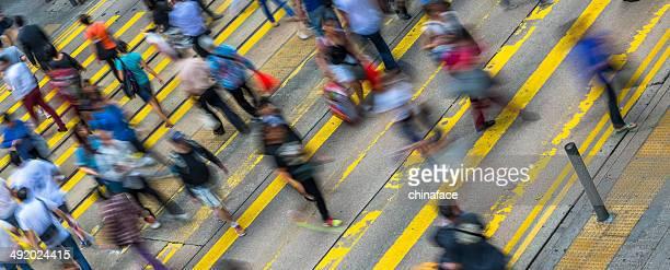 Commuters of hong kong