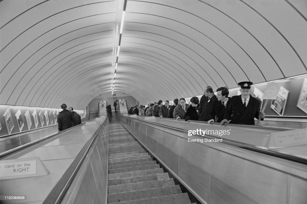 Opening of Victoria Line : News Photo