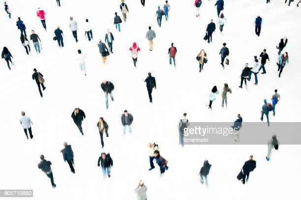commuters - large group of people stock pictures, royalty-free photos & images