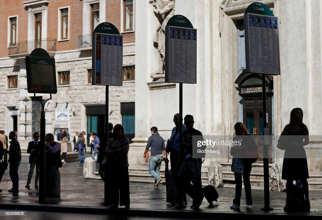 General Views From The Capital As The Italian Government Nears Collapse : News Photo