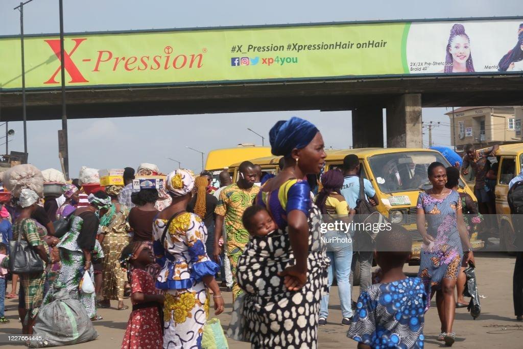 Daily Life In Nigeria After Coronavirus Lockdown Relaxation : News Photo