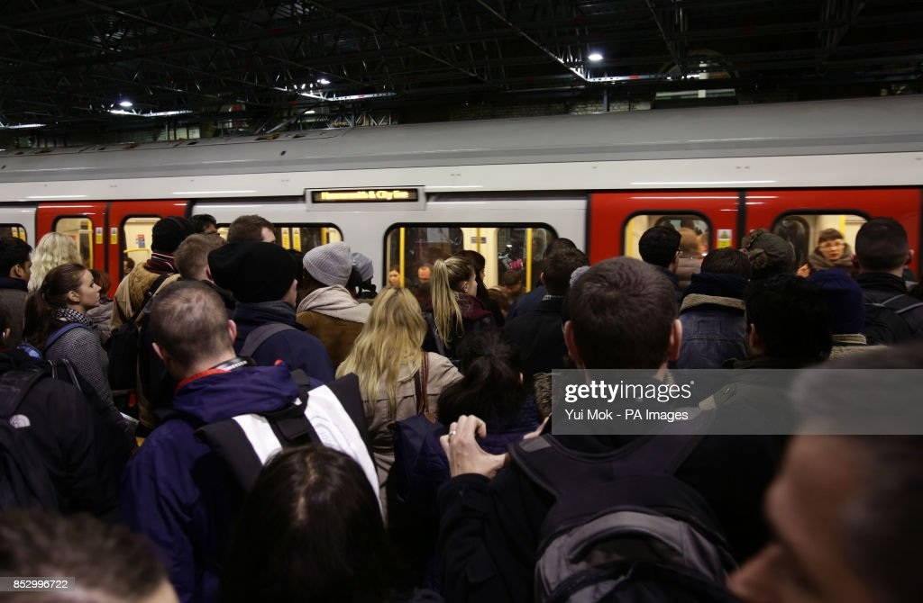 Tube Strike Pictures Getty Images