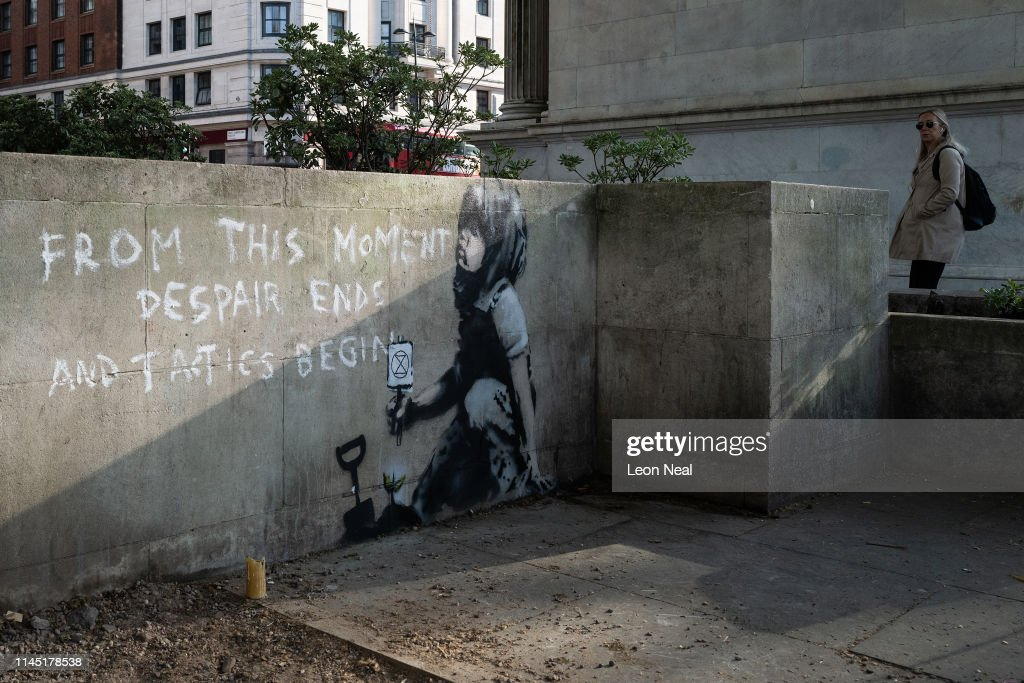 GBR: A New Artwork Attributed To Banksy Has Appeared In London Overnight