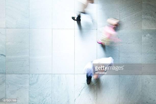 Caminar por los trabajadores
