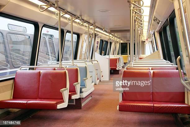 Commuter/Subway Train Interior, Washington DC