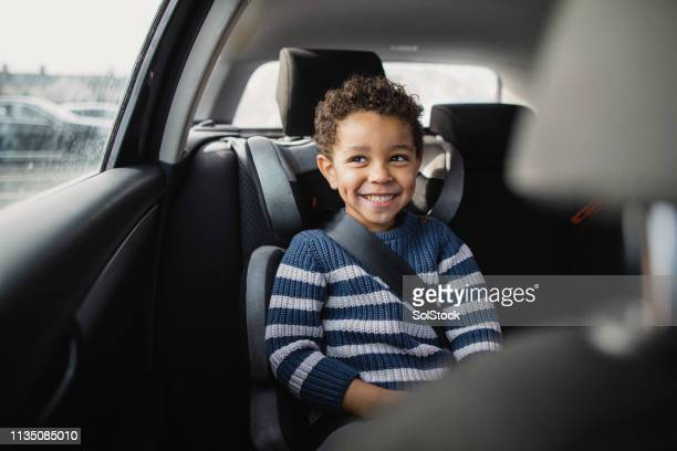 commuting by car - car interior stock pictures, royalty-free photos & images