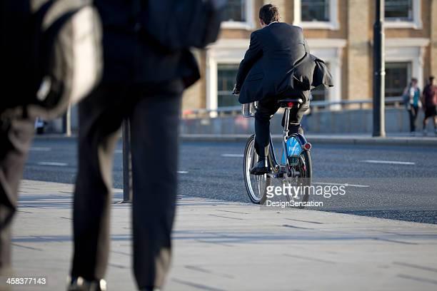 Pendeln auf Barclays Fahrradvermietung Regelung, London (XXXL