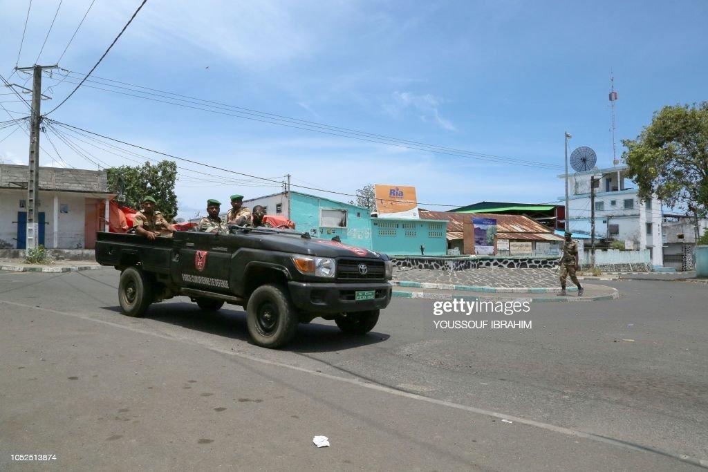COMOROS-POLITICS-UNREST : News Photo