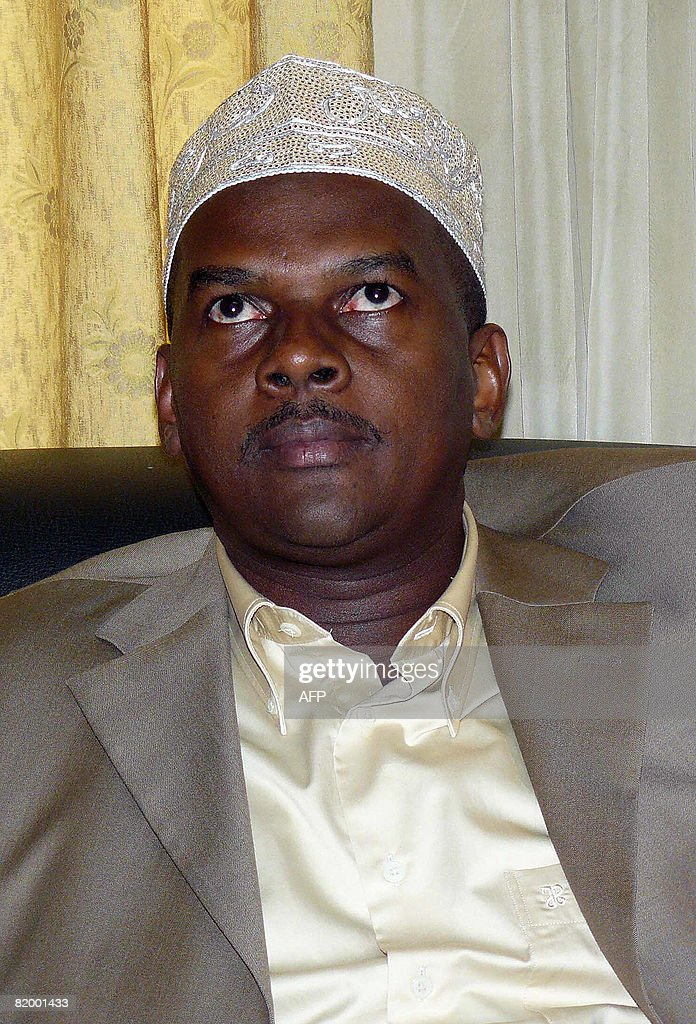 Comoros rebel leader Mohamed Bacar, who : News Photo