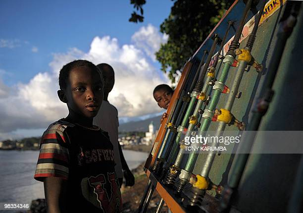 Comoros' youth play tablesoccer at Moroni April 6 2010 The Indian Ocean archipelago of Comoros faces political instability after President Ahmed...