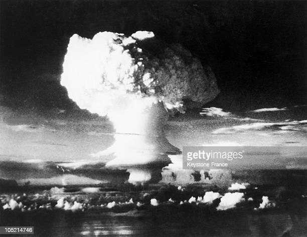 Compact Cloud Formed After The First Explosion Of A Hydrogen Bomb, With The Code Name Mike, Tested By The U.S. In The Eniwetok Atoll In The Marshall...