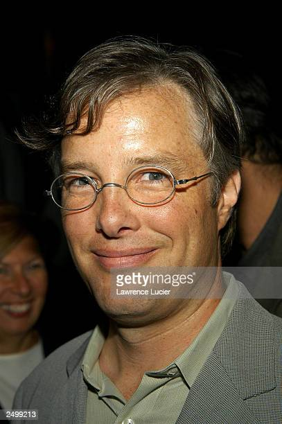 Companies Executive Vice President of affiliate sales and marketing Gregg Hill arrives at a prescreening reception for the film Casa de los Babys at...