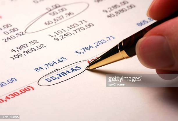 company balance sheet - bank statement stock pictures, royalty-free photos & images