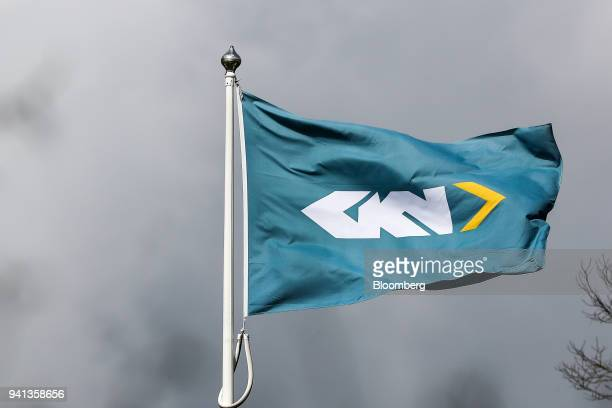 A company branded flag flies outside GKN Plc's company headquarters in Redditch UK on Tuesday April 3 2018 Yet another corporate headache has landed...